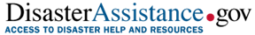 Disaster Assistance Gov logo
