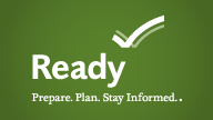 Logo for ready.gov